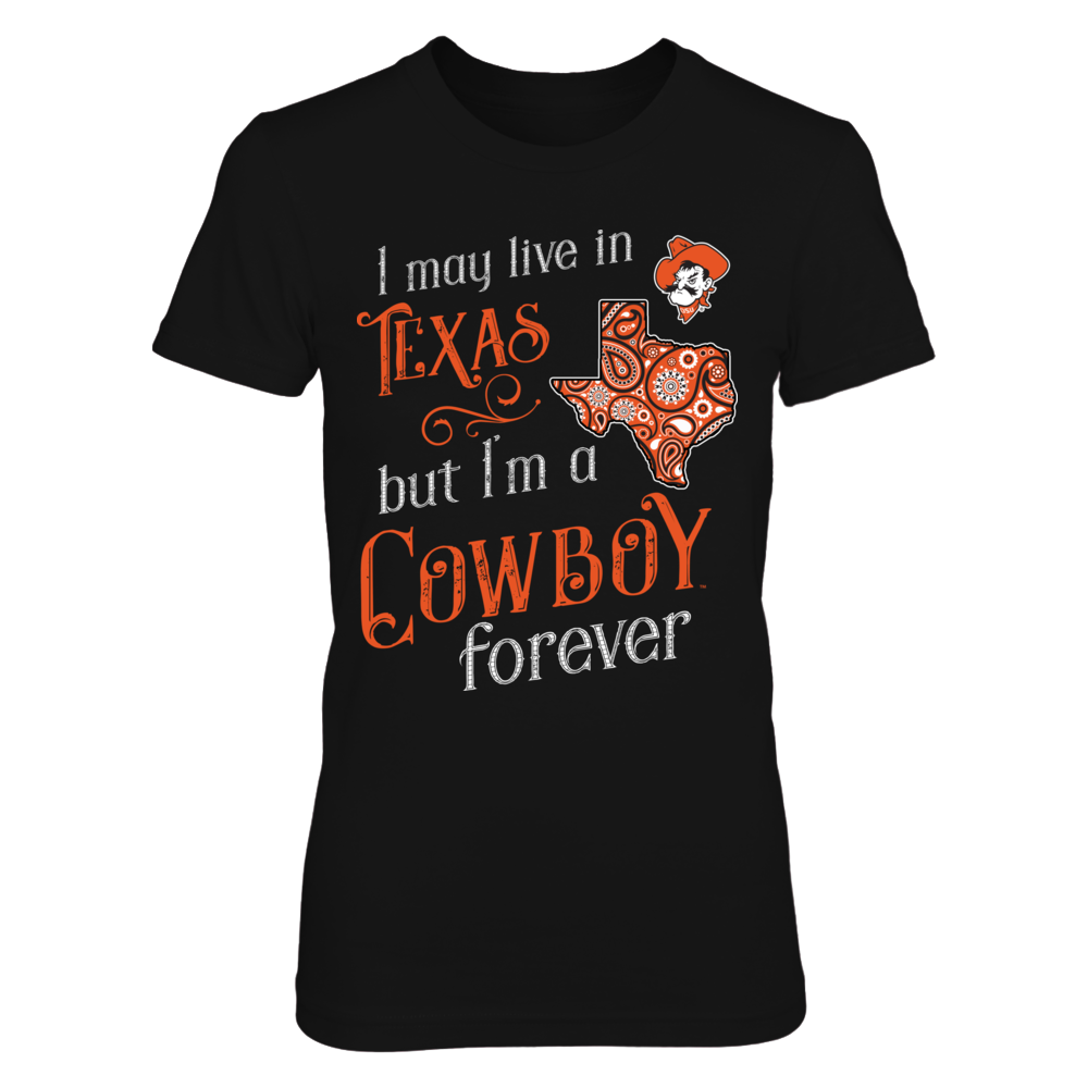 Oklahoma State Cowboys - Out of state loving - girly - Texas Front picture