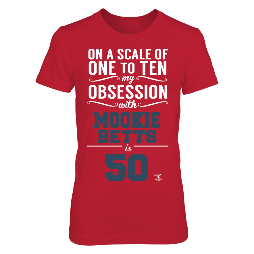 Mookie Betts - My Obsession Front picture