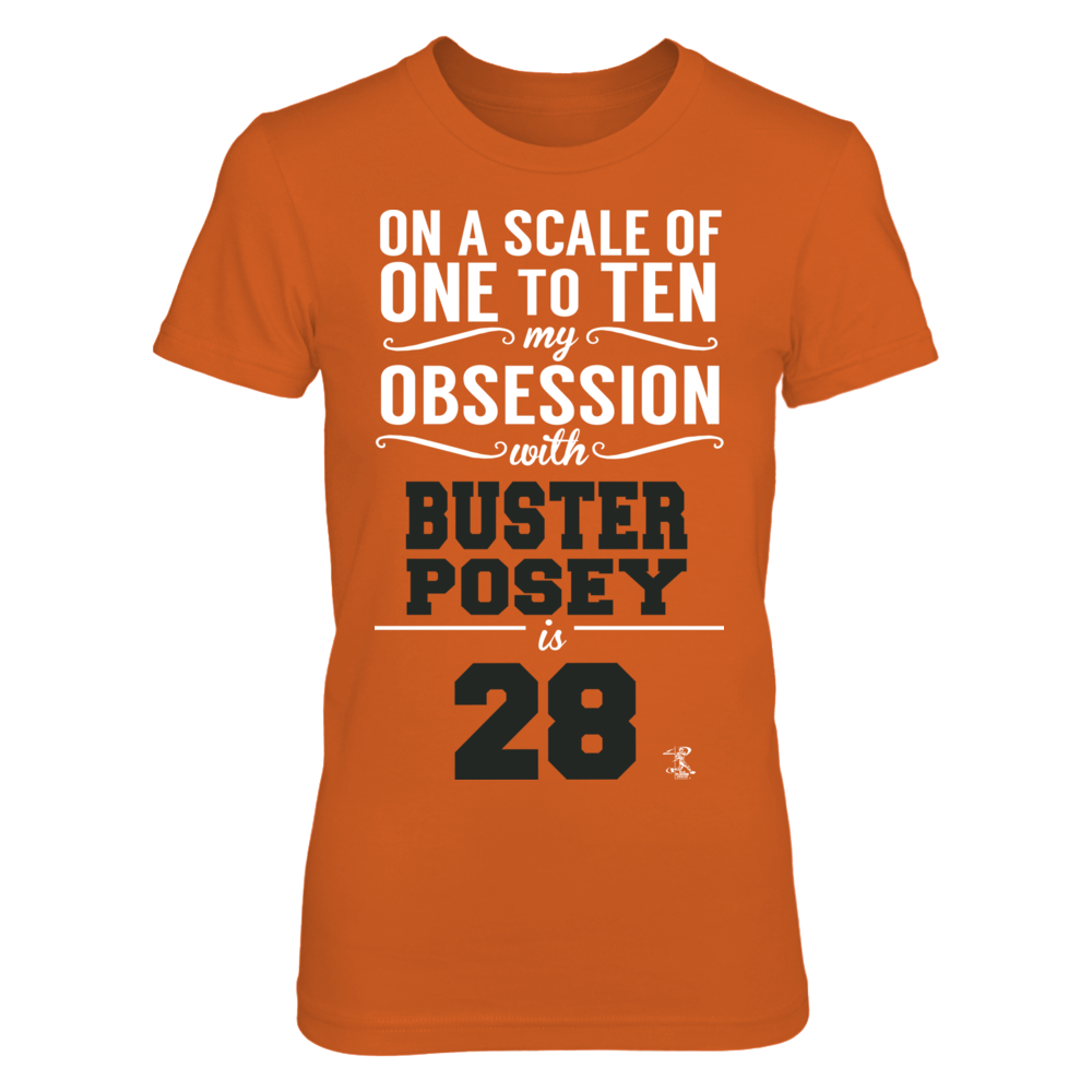 Buster Posey - My Obsession Front picture