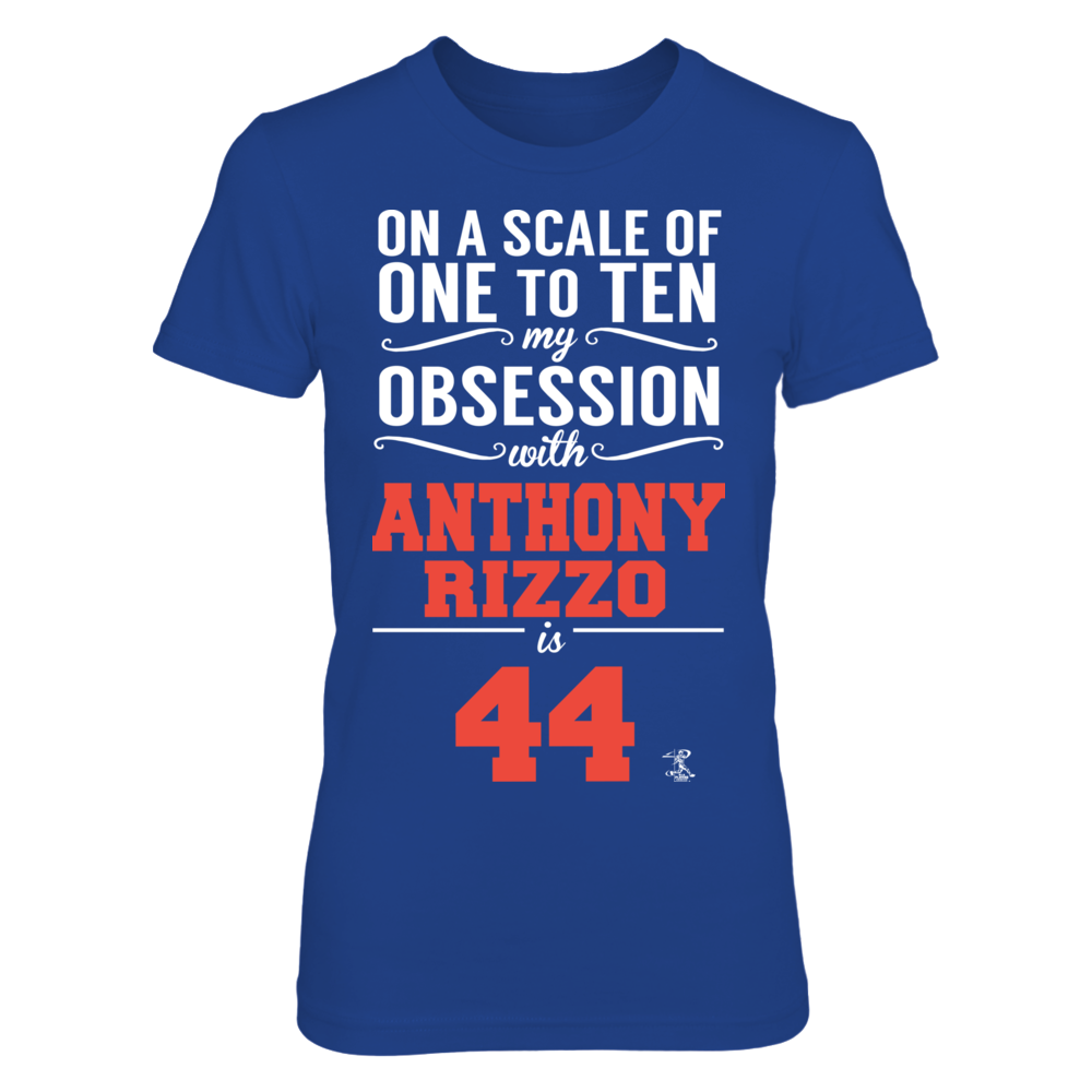 Anthony Rizzo - My Obsession Front picture