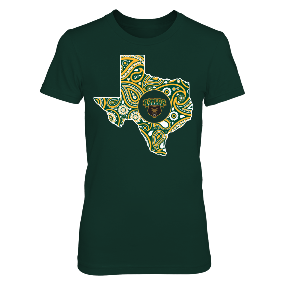 Baylor Bears - Paisley state ver 2 Front picture