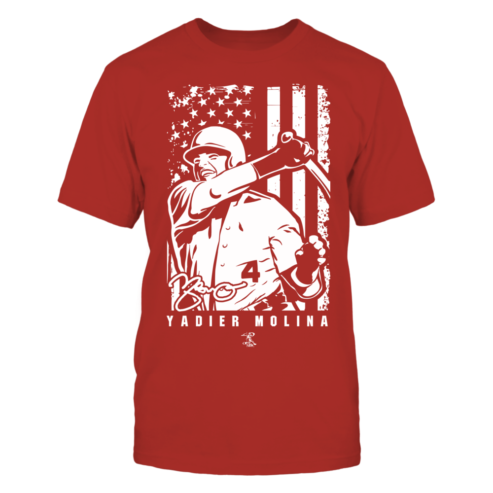 Player Illustration Flag - Yadier Molina Front picture