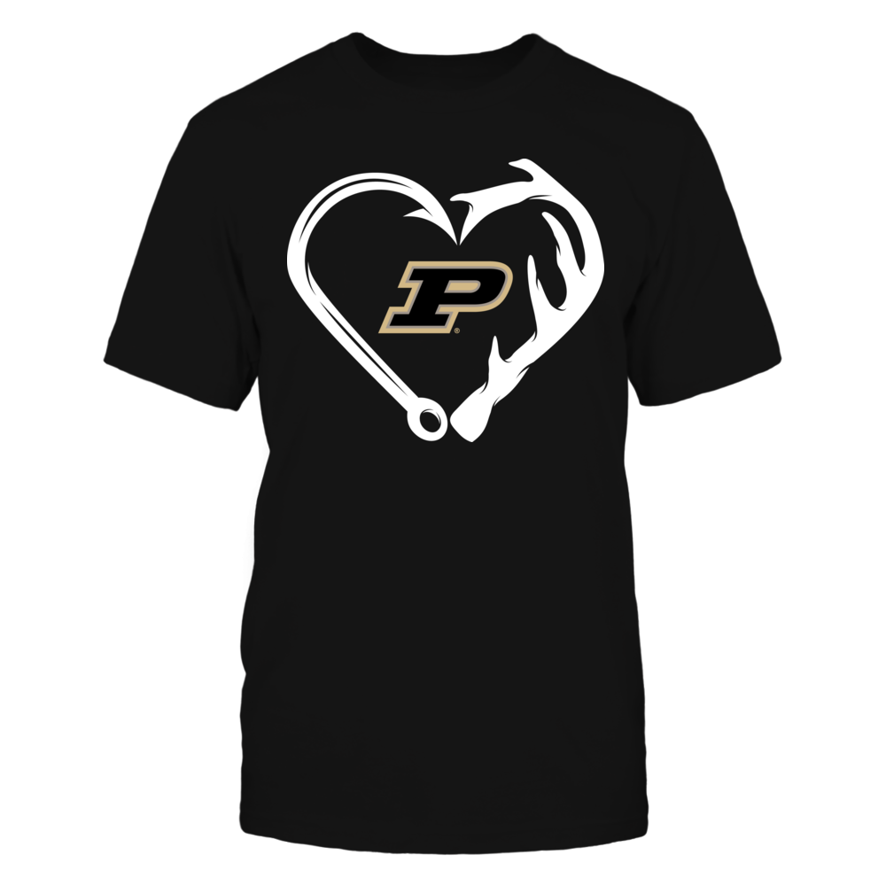 Purdue Boilermakers - Sportsman Heart Front picture