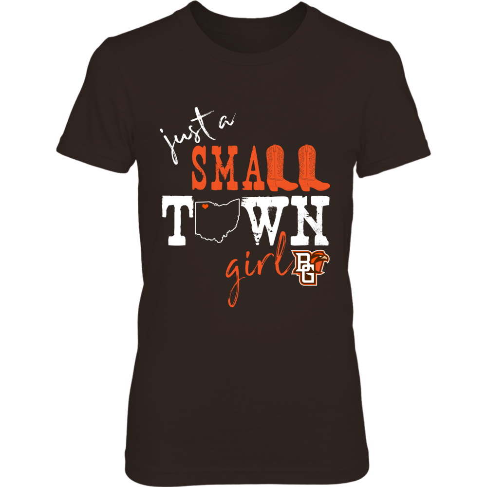 Bowling Green Falcons - Small town girl - State Outline Front picture