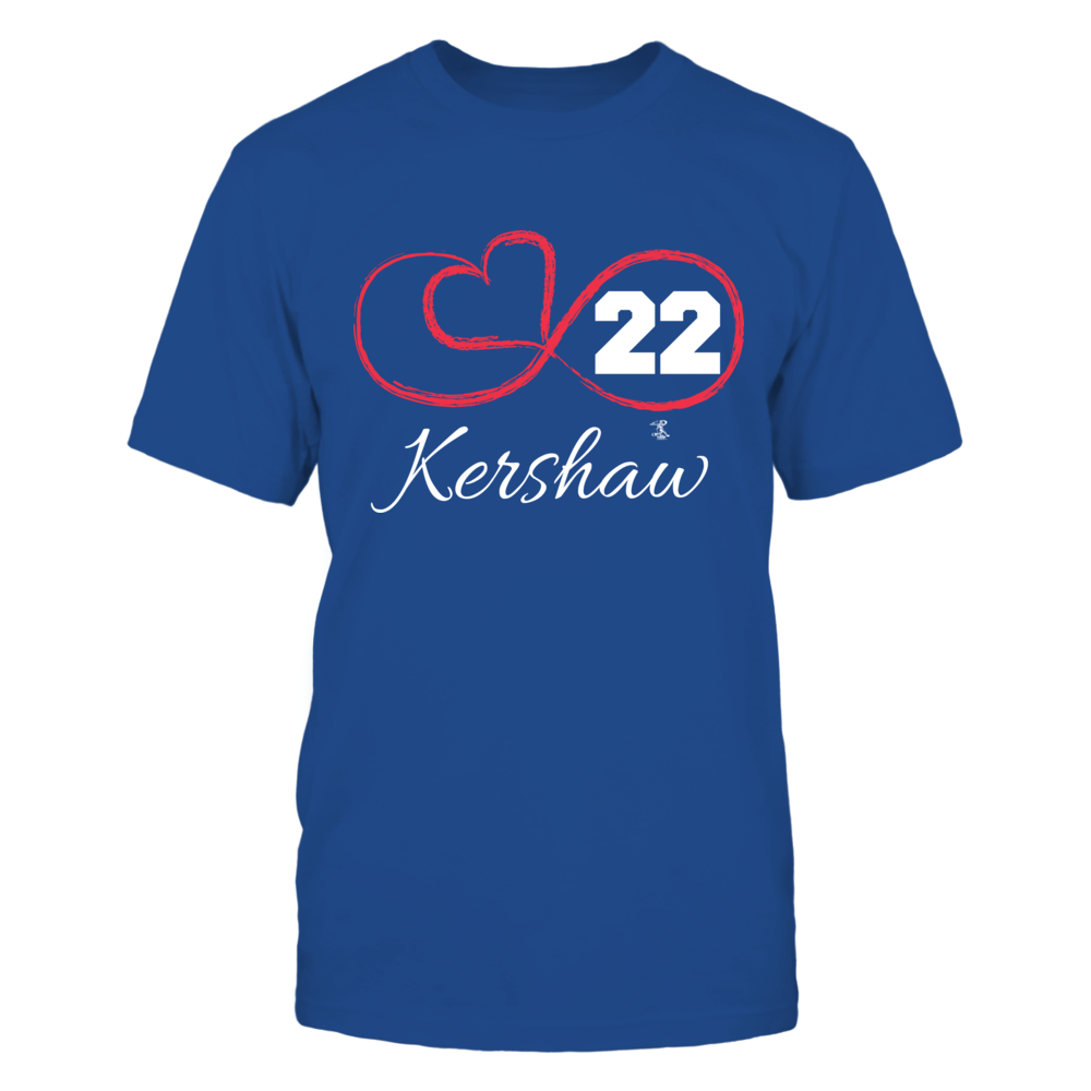 Clayton Kershaw - Infinity Heart Player Number Front picture