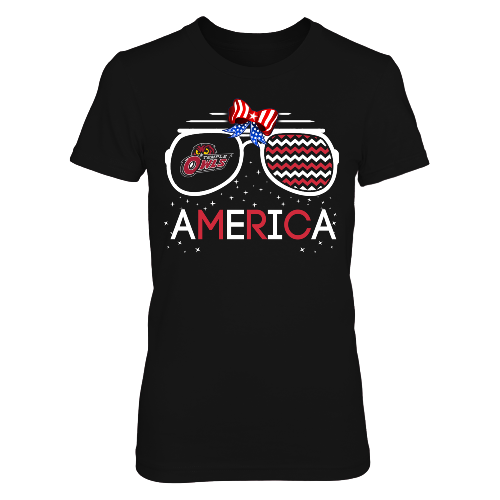 Temple Owls - American Glasses Front picture