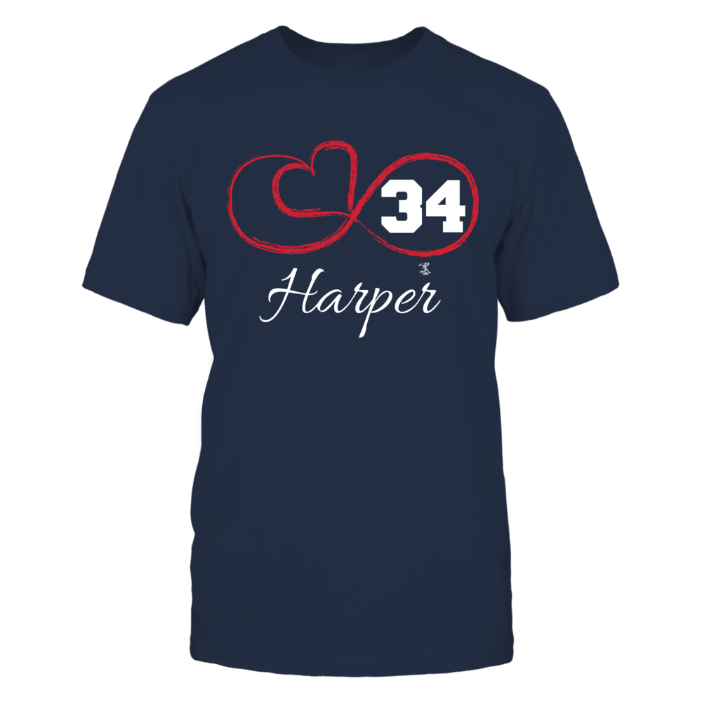 Bryce Harper - Infinity Heart Player Number Front picture