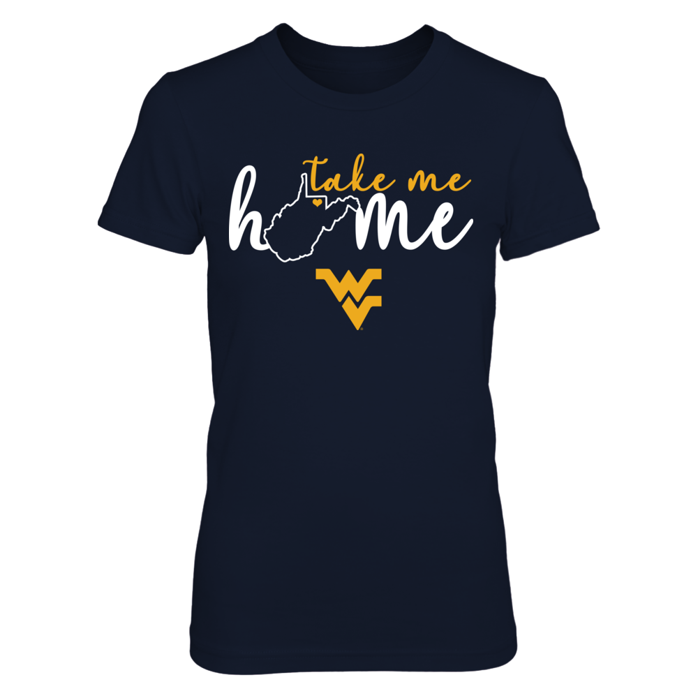 West Virginia Mountaineers - Take me home - State Outline Front picture