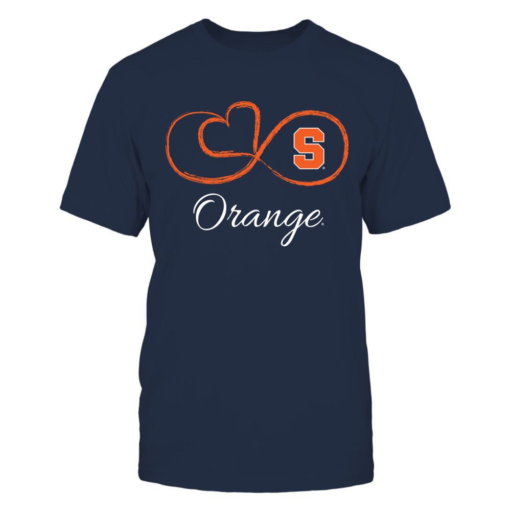 Syracuse Orange - Infinity Heart Front picture