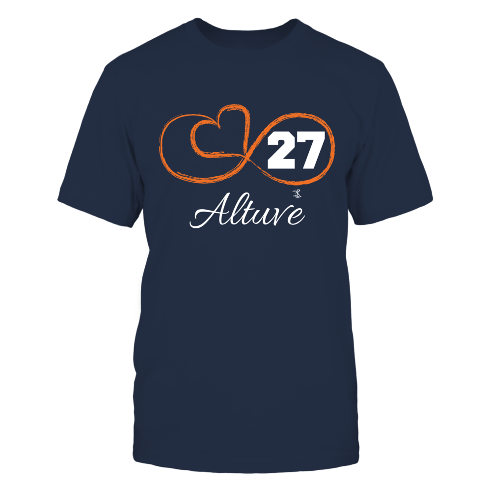 Jose Altuve - Infinity Heart Player Number Front picture