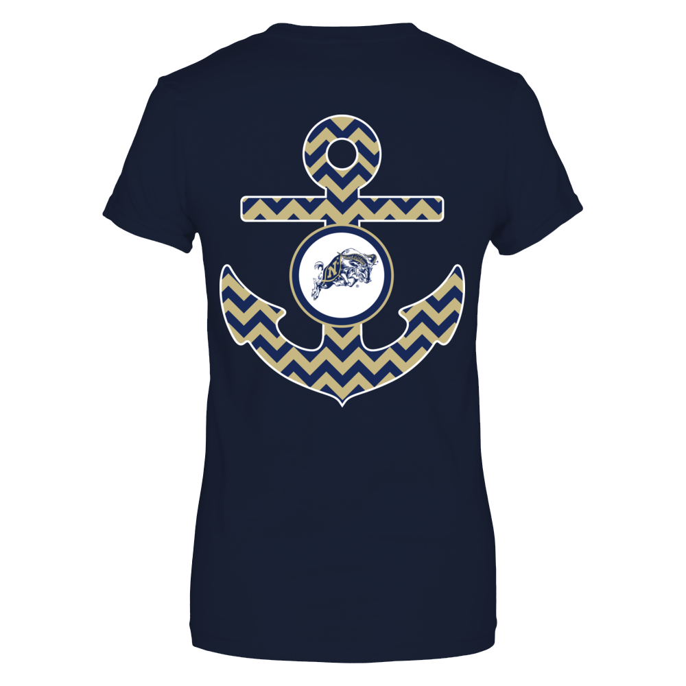 Anchor - Navy Midshipmen Back picture
