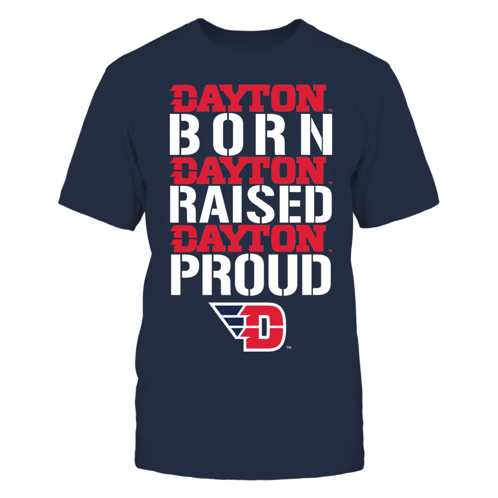 Dayton Flyers - Born Raised Proud Front picture