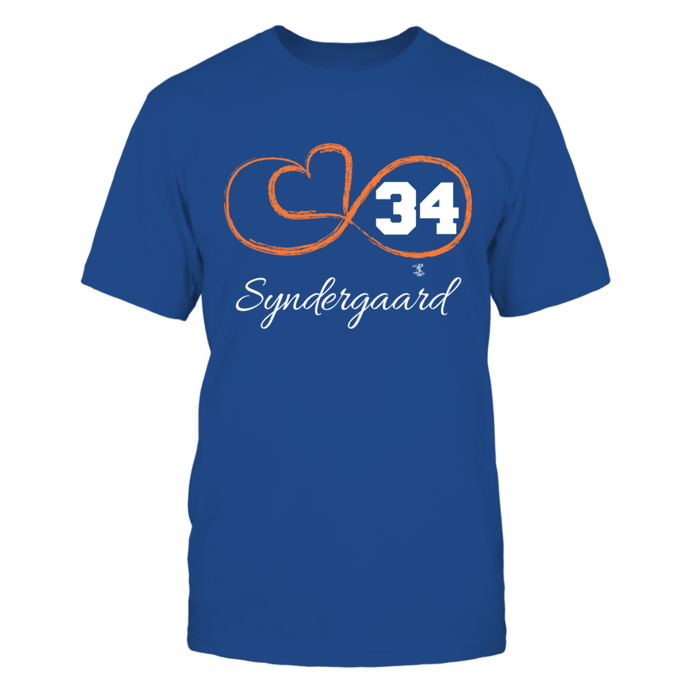 Noah Syndergaard - Infinity Heart Player Number Front picture