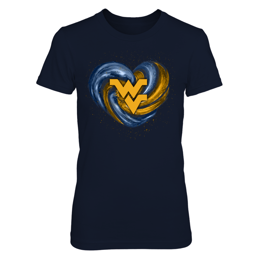 West Virginia Mountaineers - Hurricane Heart - Original Front picture