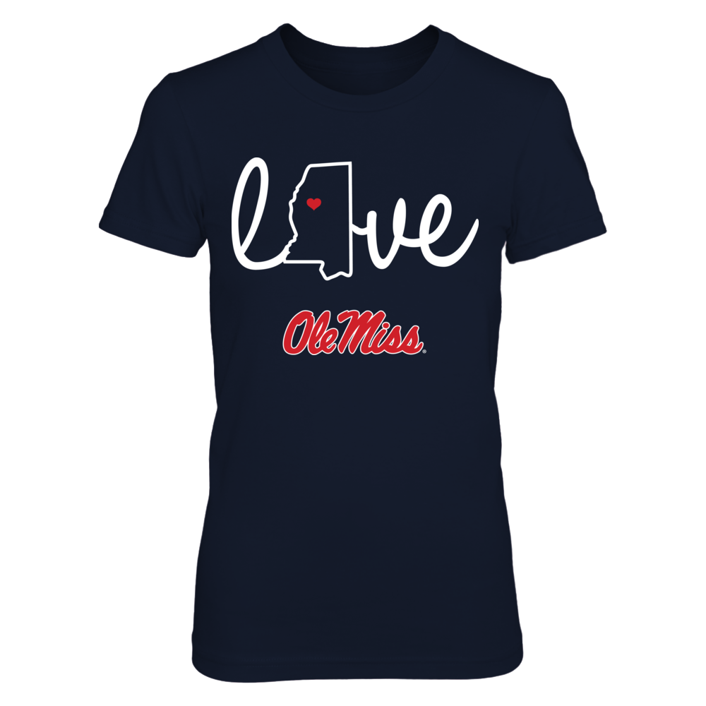 State Love - Ole Miss Rebels Front picture