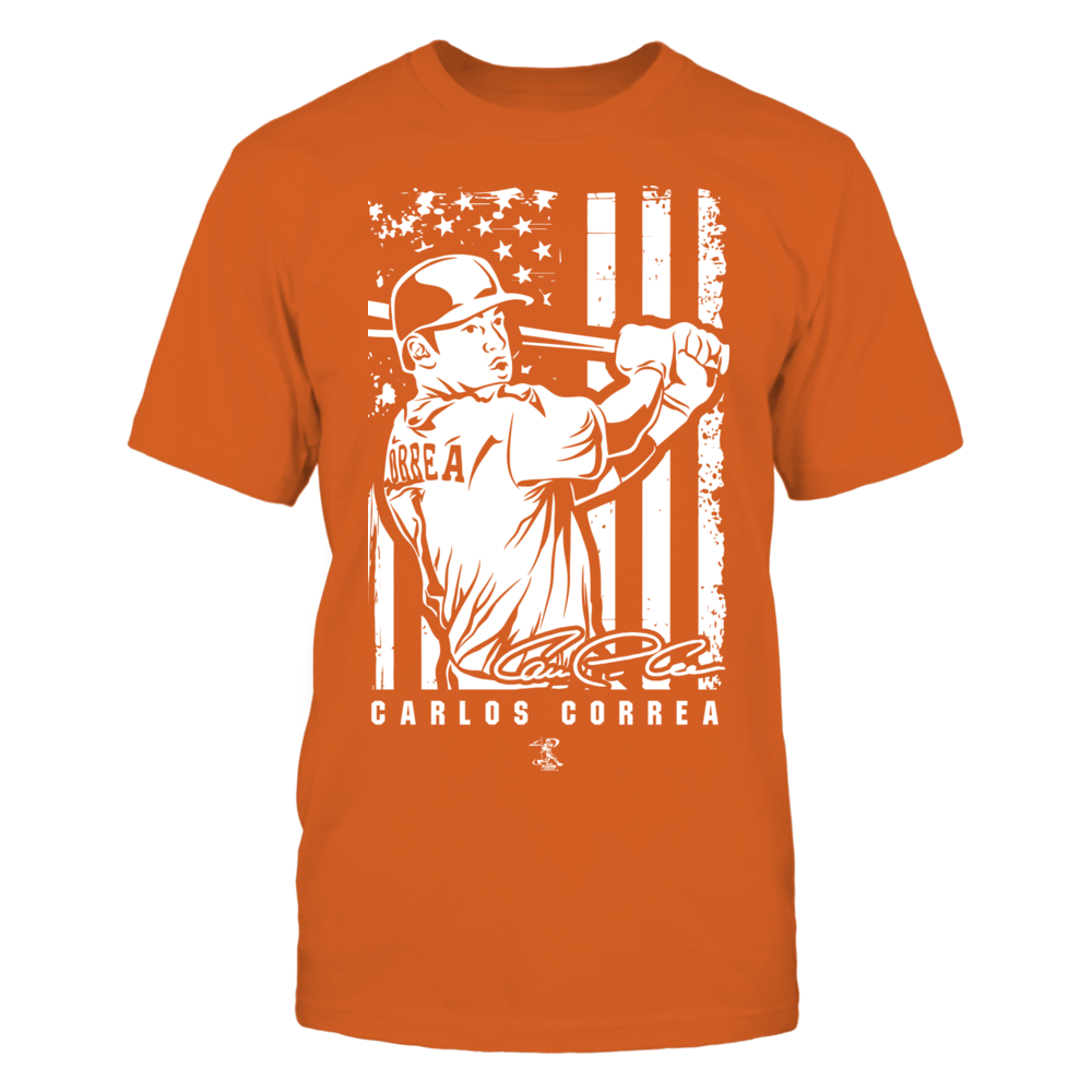 Player Illustration Flag - Carlos Correa Front picture