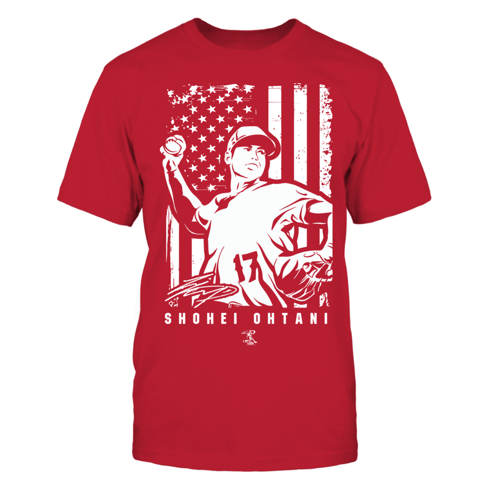 Player Illustration Flag - Shohei Ohtani Front picture