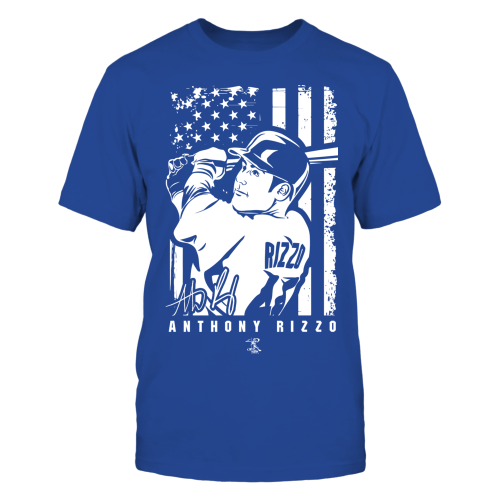 Player Illustration Flag - Anthony Rizzo Front picture