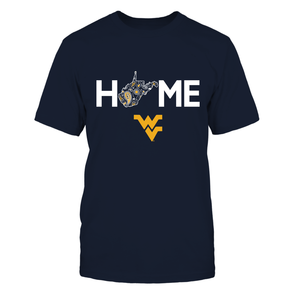 West Virginia Mountaineers - Home - Paisley State Map Front picture