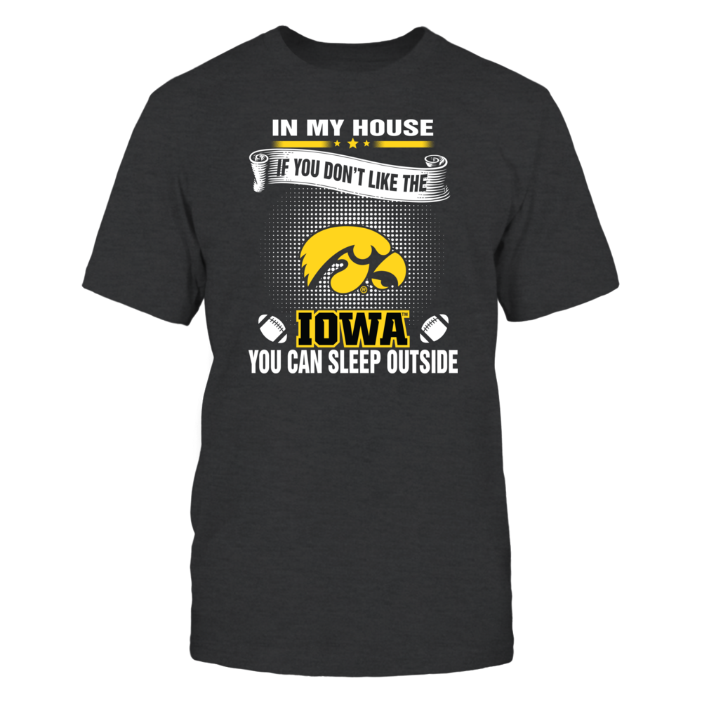 Iowa Hawkeyes - You Can Sleep Outside Front picture