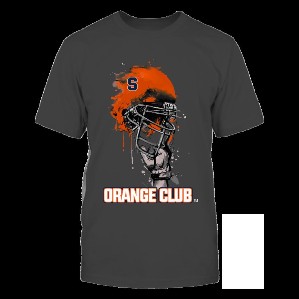 Rising Helmet - Syracuse Orange Front picture