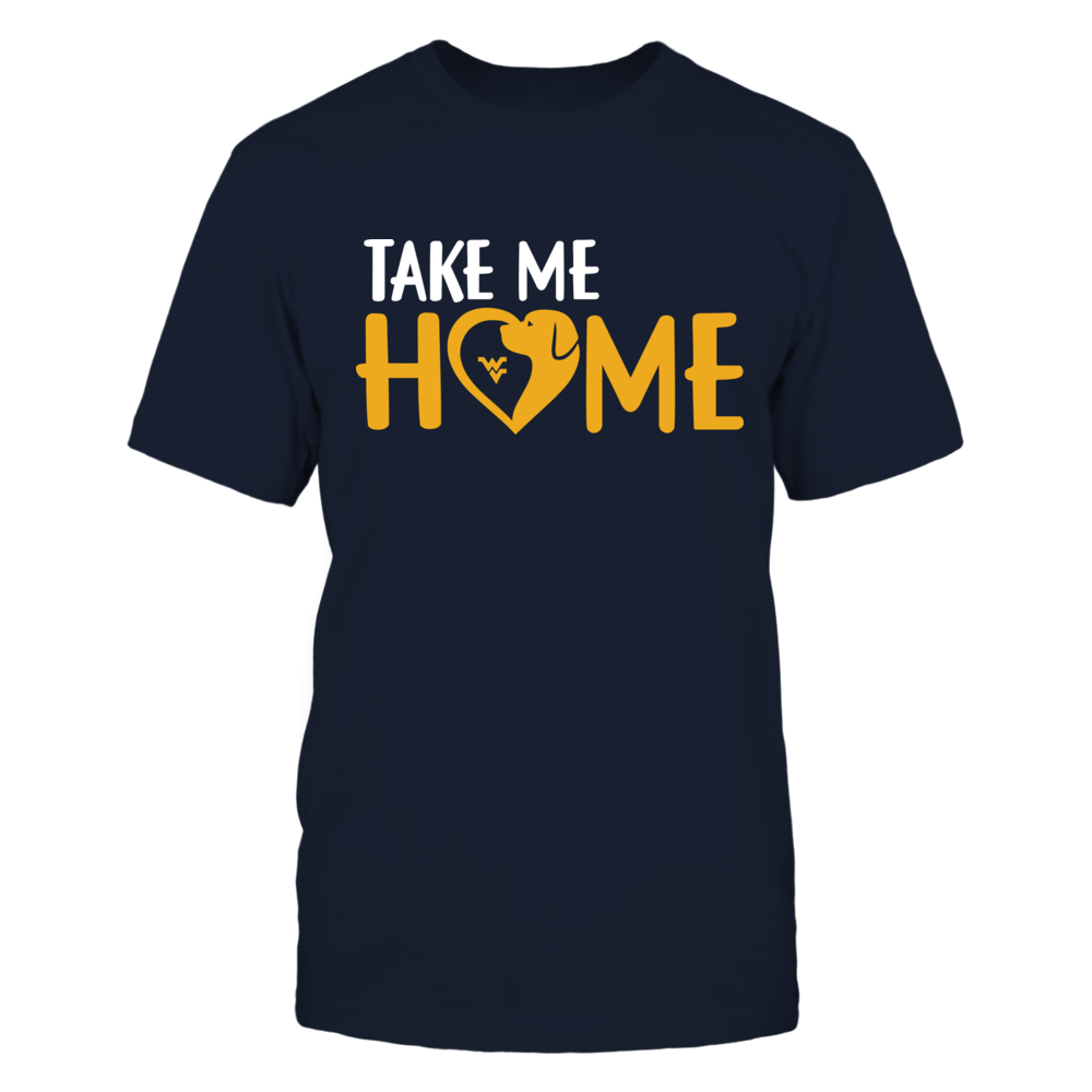 West Virginia Mountaineers - Take Me Home - Mascot Heart Front picture