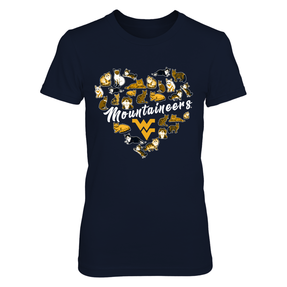 West Virginia Mountaineers -  Heart Of Cats Front picture