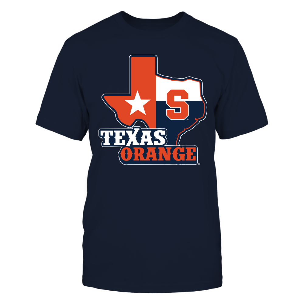 Syracuse Orange - Texas Map Mascot Front picture