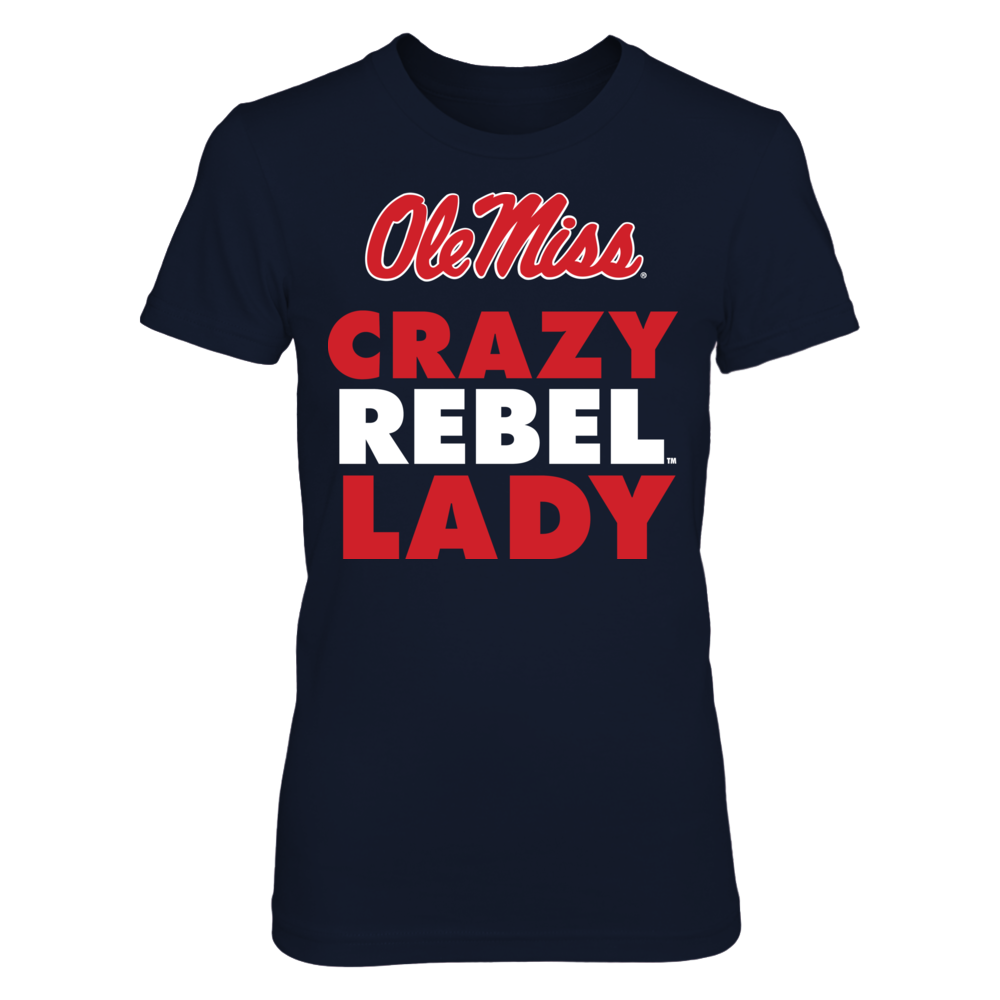 Crazy Rebel Lady - Ole Miss Rebels Front picture