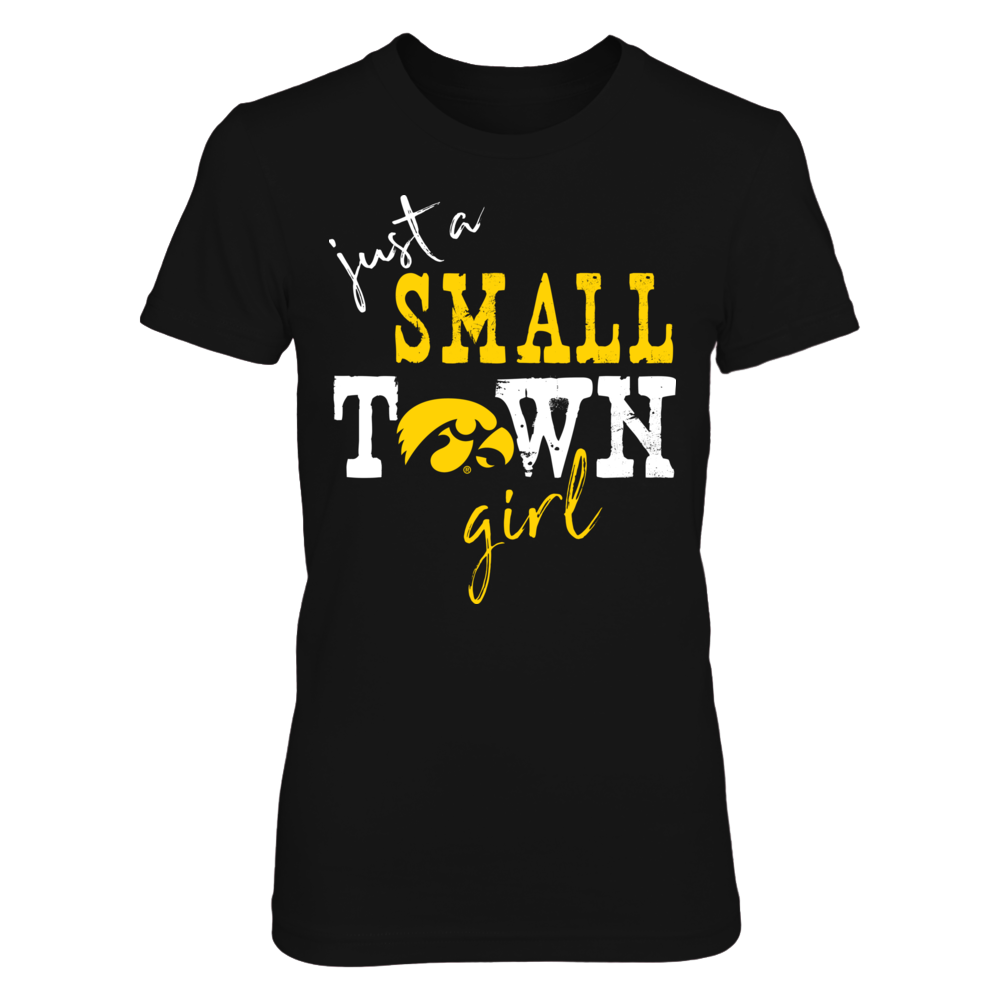 Iowa Hawkeyes - Small Town Girl - Logo - IF-IC13-DS75 Front picture