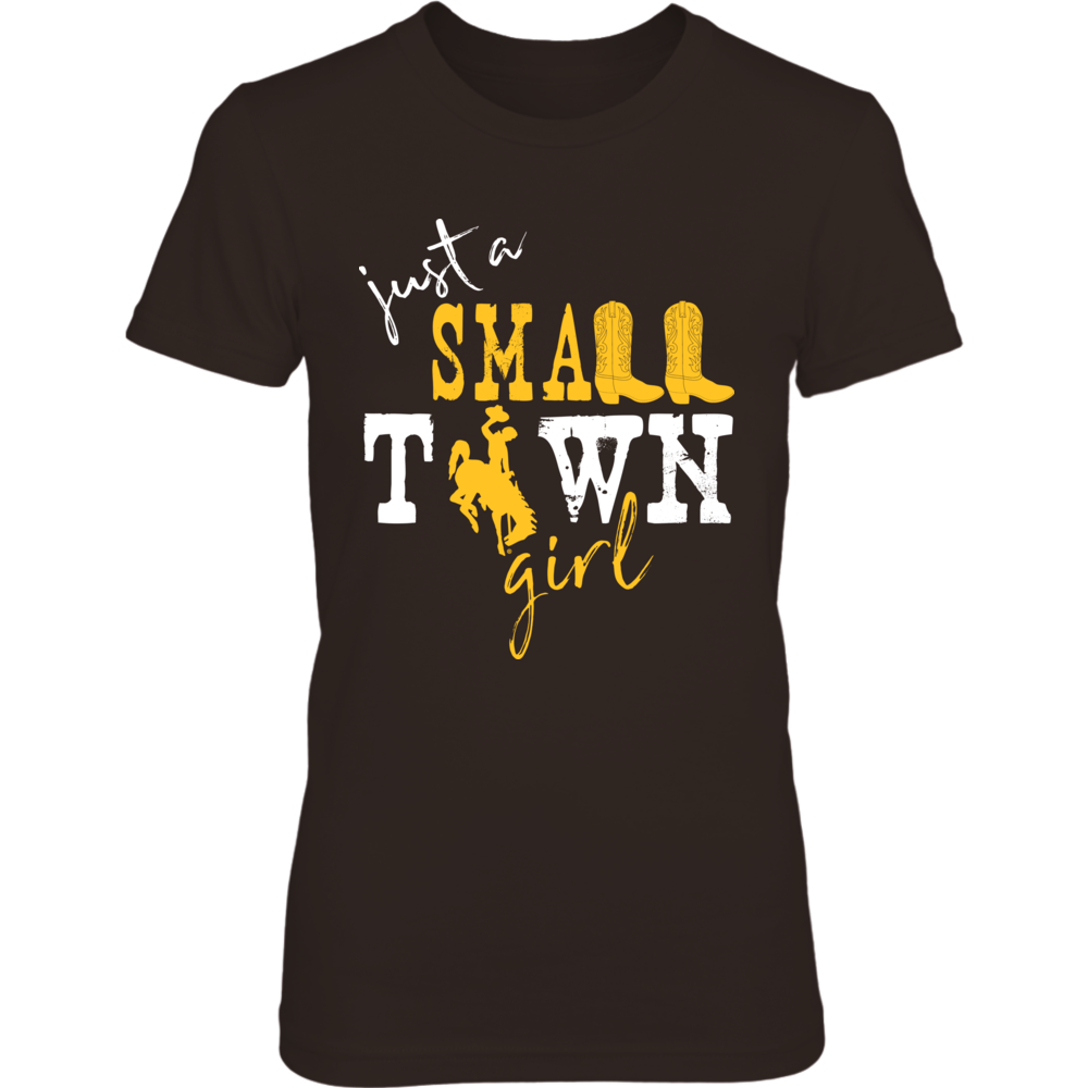 Wyoming Cowboys -  Small Town Girl - Logo Front picture