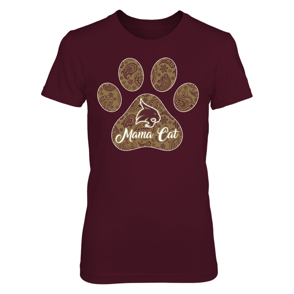 Texas State Bobcats - Mom in paw Front picture