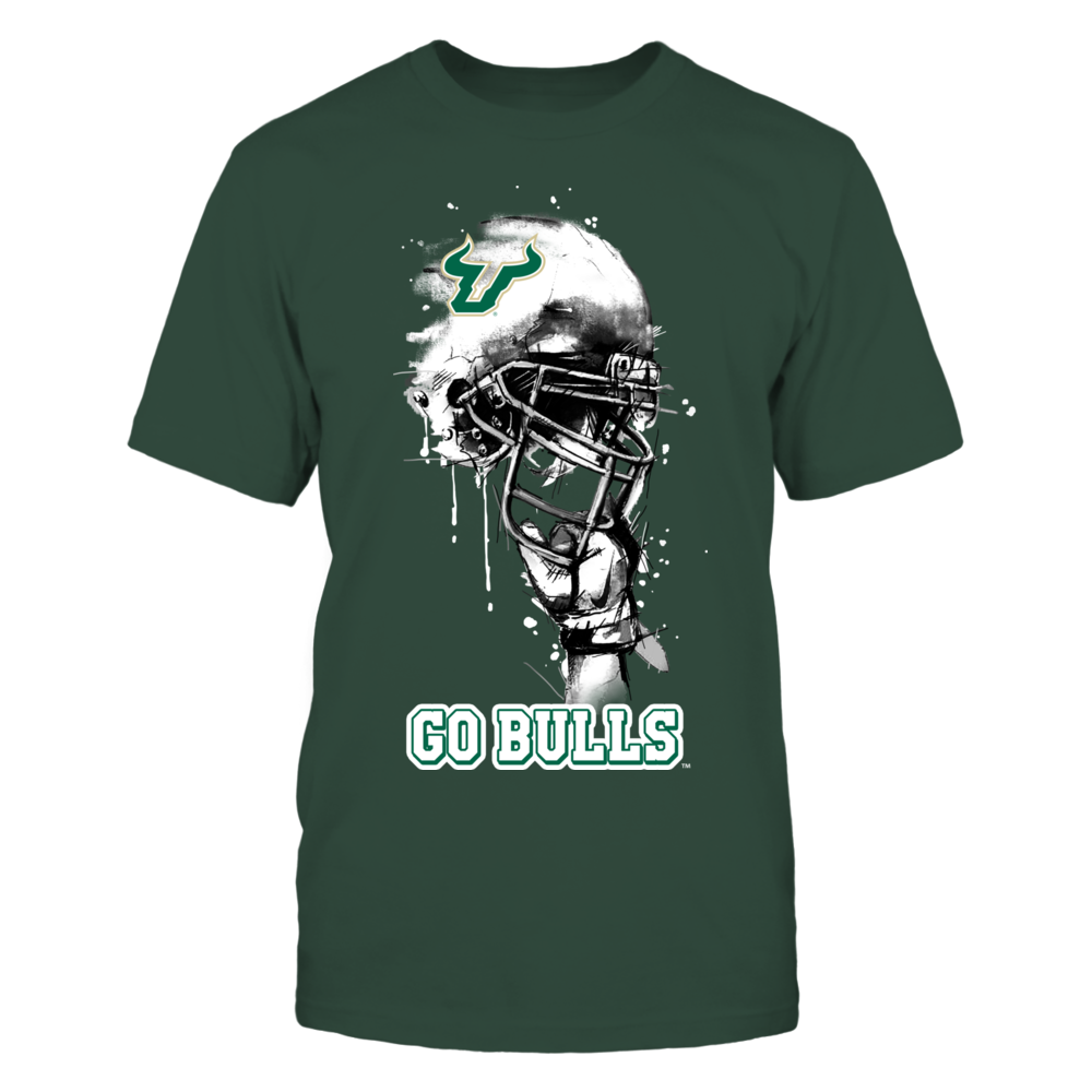 South Florida Bulls - Rising Helmet Front picture