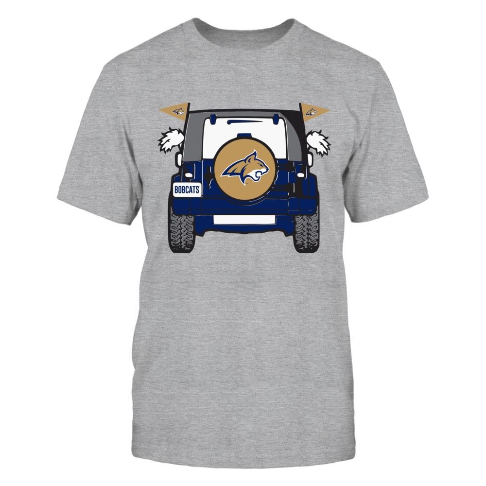 Jeep Mascot - Montana State Bobcats Front picture