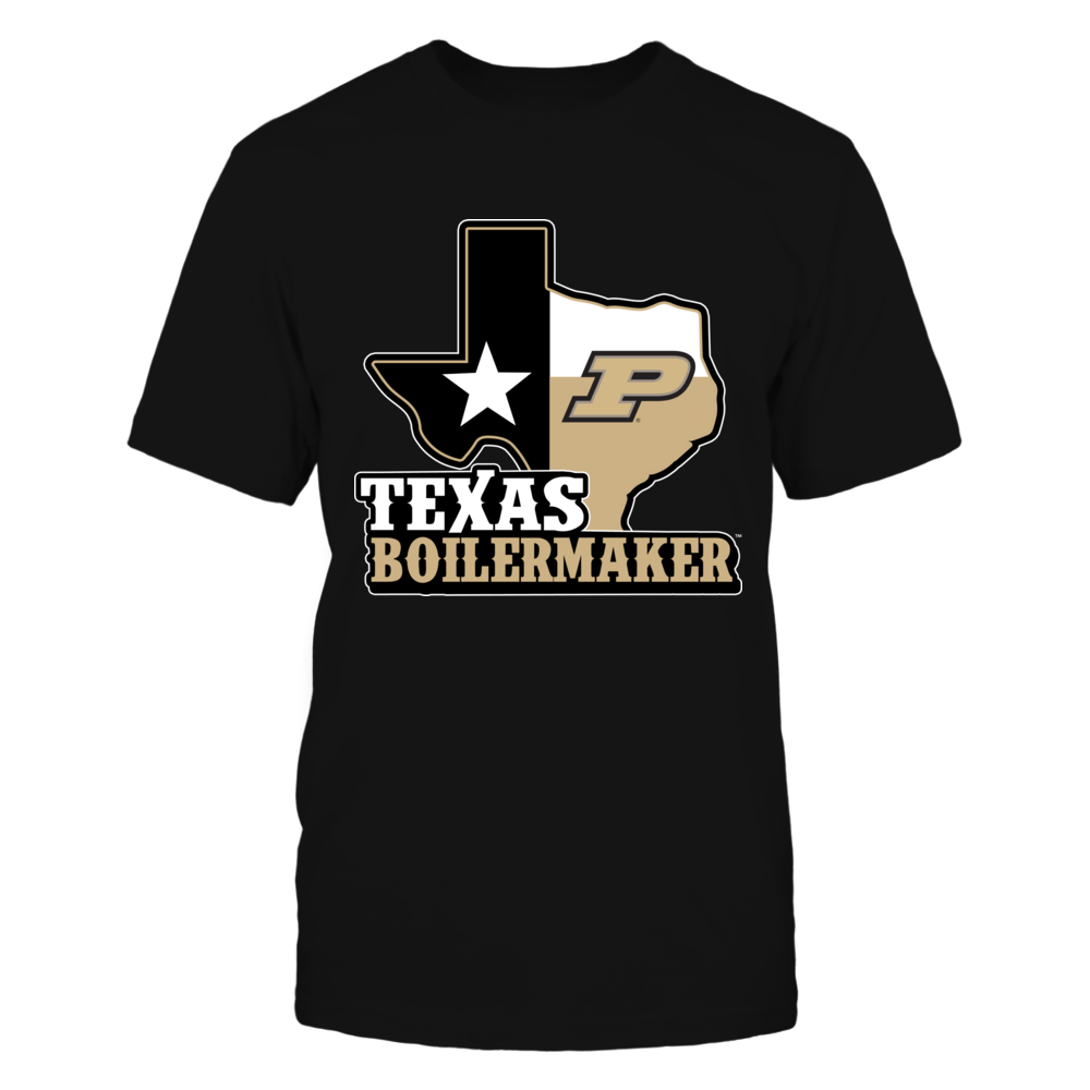 Purdue Boilermakers - Texsa Map Mascot Front picture