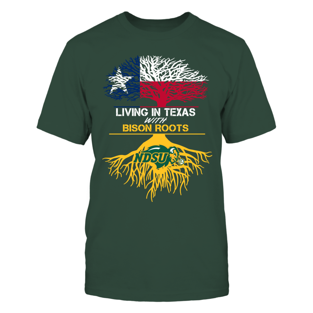 North Dakota State Bison -  Living Roots Texas Front picture