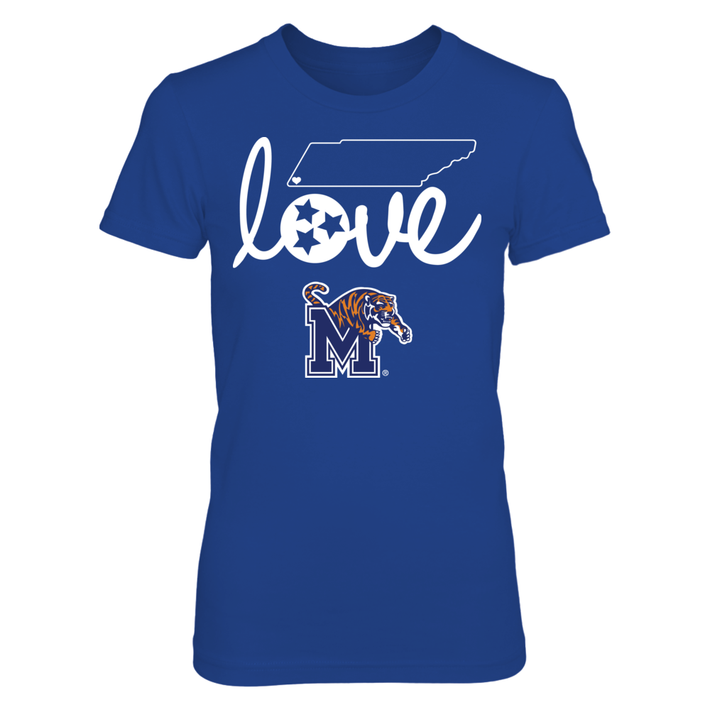 State Love - Memphis Tigers Front picture