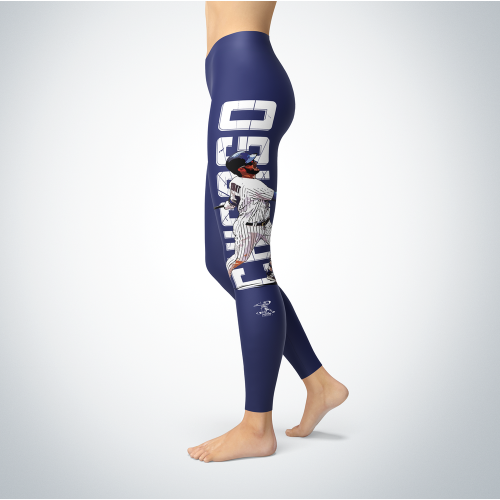 Kris Bryant - Team Shatter Leggings Back picture