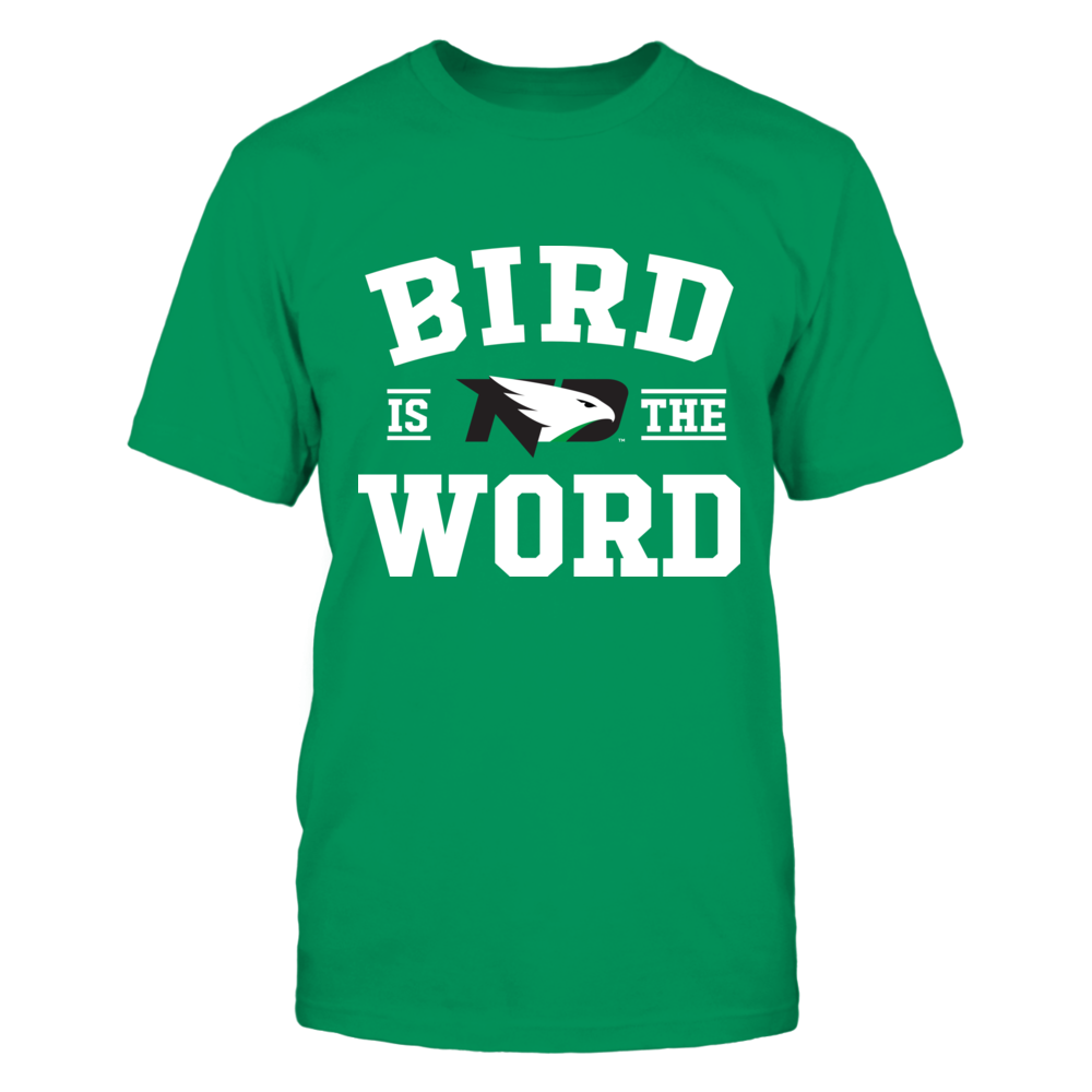 North Dakota Fighting Hawks - Bird Is The Word Front picture