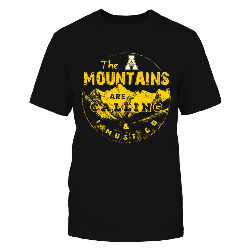 Appalachian State Mountaineers - The Mountains Are Calling Front picture