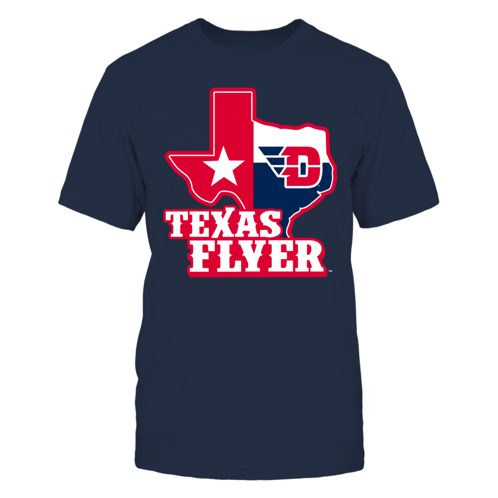 Dayton Flyers - Texas Map Mascot Front picture