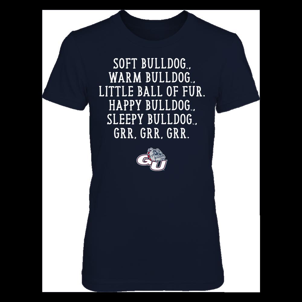 Soft Warm - Gonzaga Bulldogs Front picture