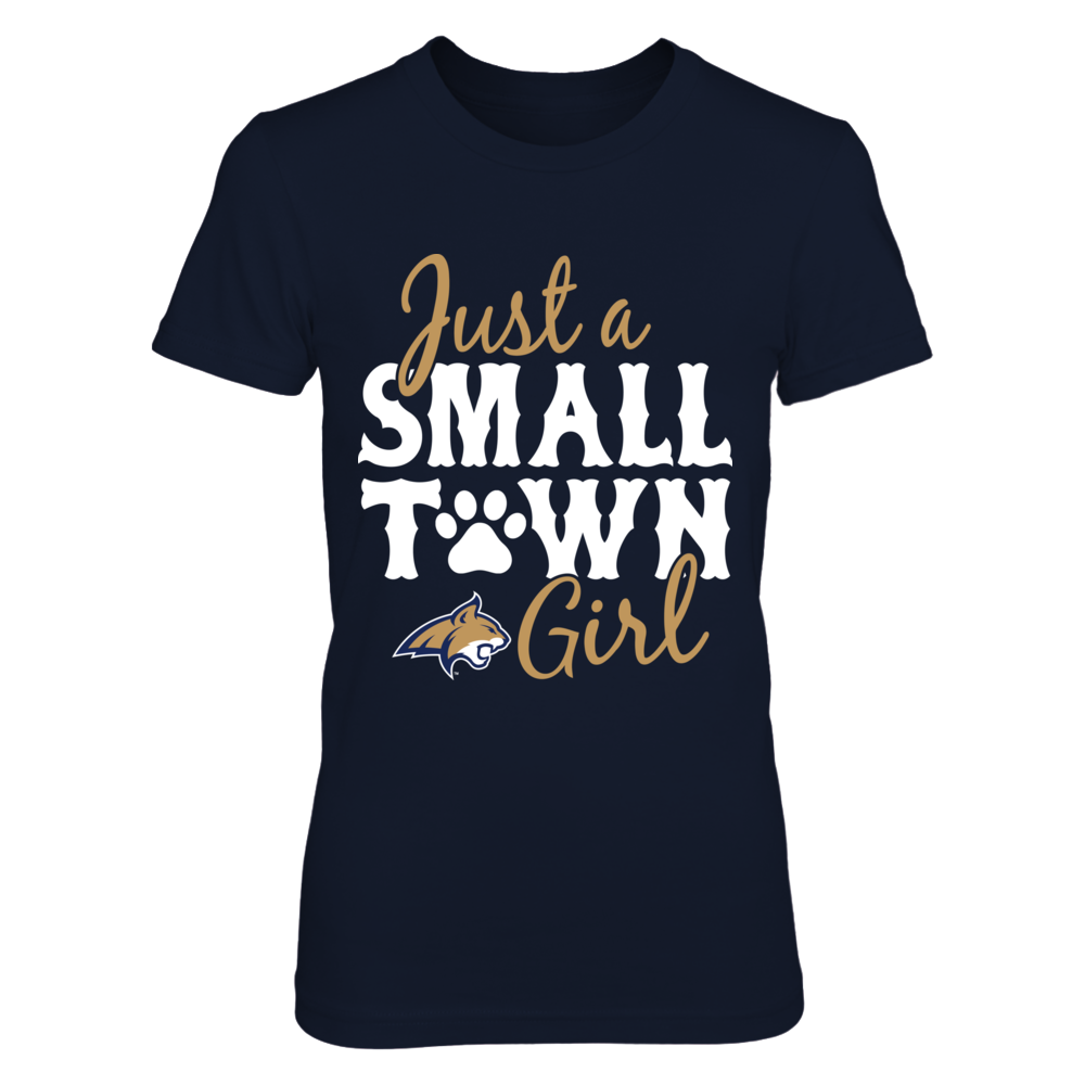 Montana State Bobcats - Just A Small Town Girl - Paw Front picture