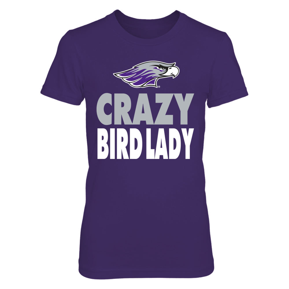 Wisconsin-Whitewater Warhawks -  Crazy Cat Lady - Basic Front picture