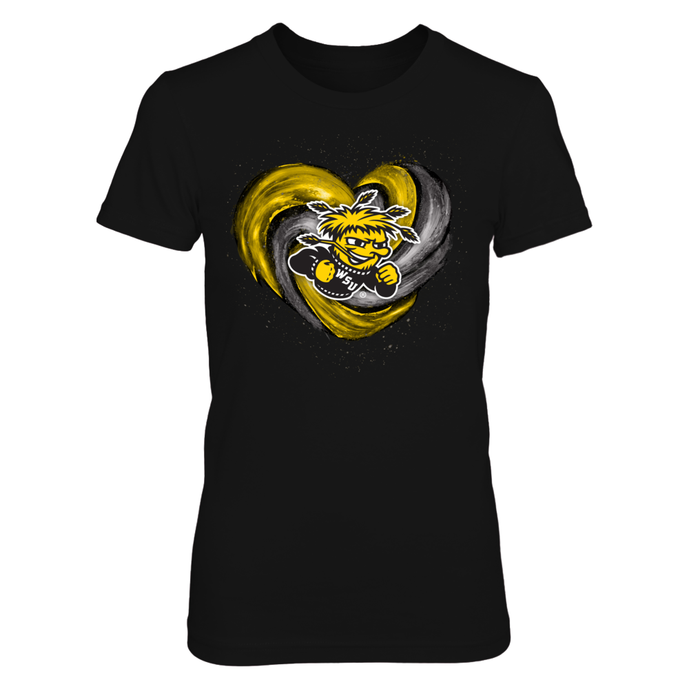 Wichita State Shockers - Hurricane Heart - Original Front picture