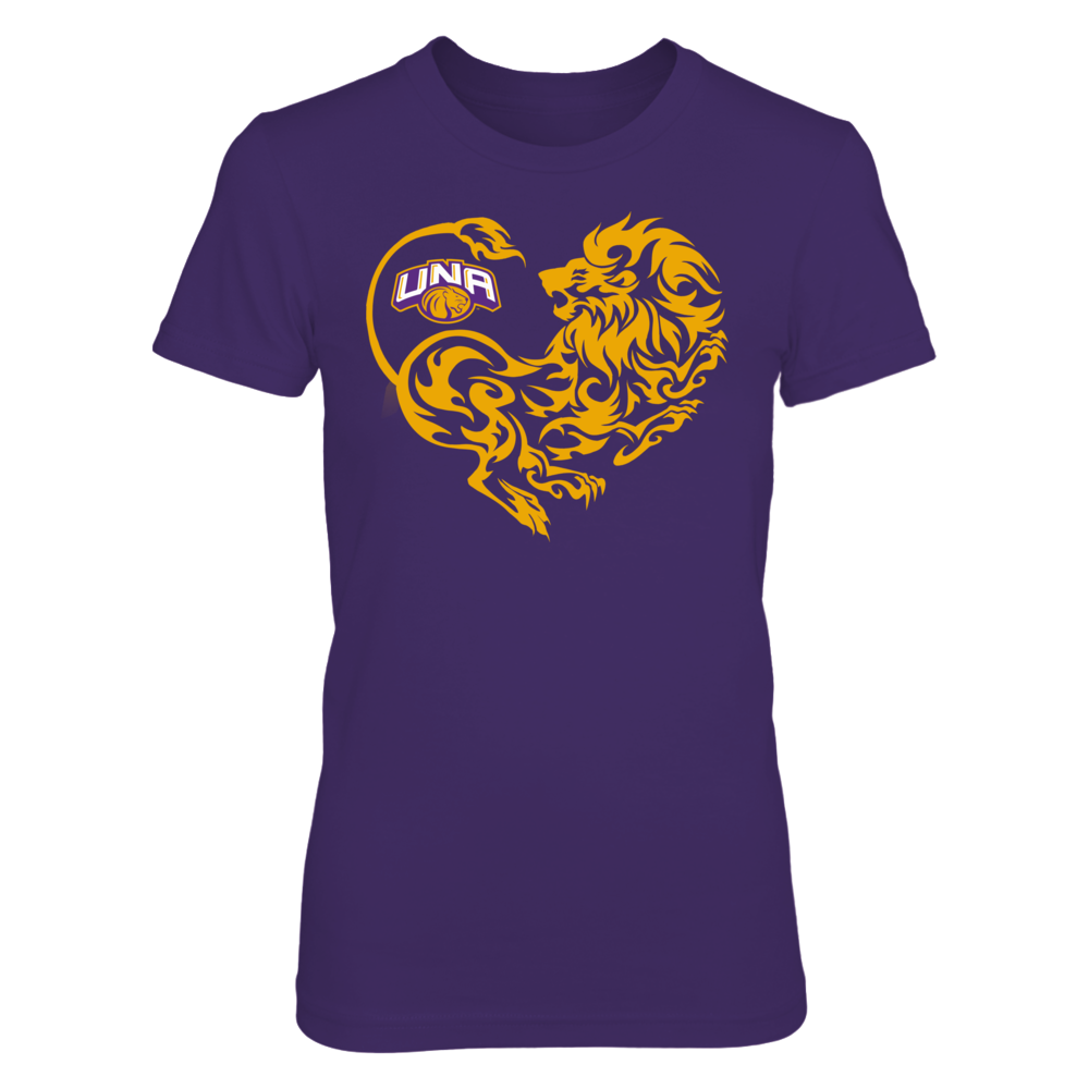 North Alabama Lions - Lion Heart Front picture