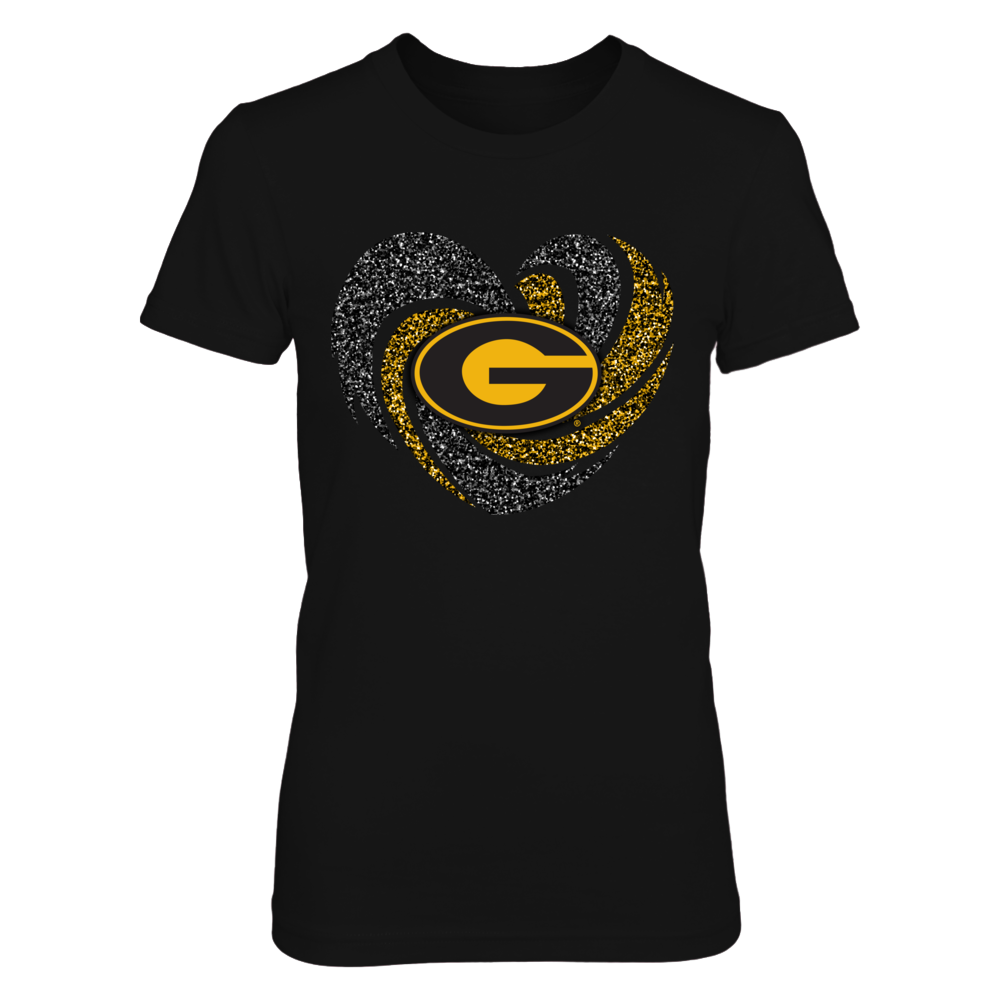 Grambling State Tigers - Sparkle - Hurricane Heart Front picture
