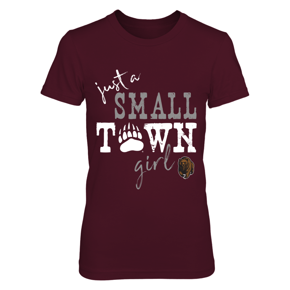 Montana Grizzlies - Small Town Girl - Paw - ver 2 Front picture