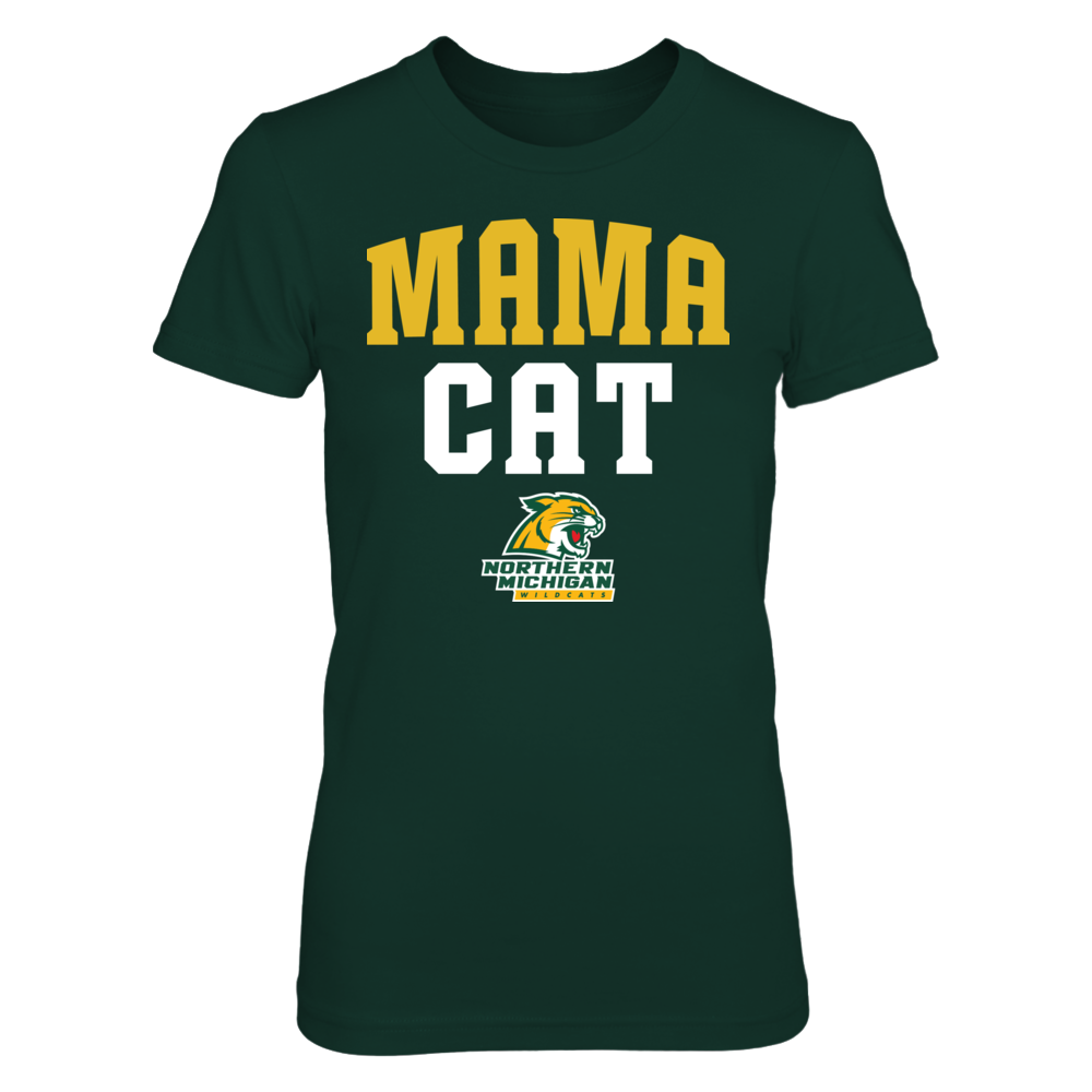 Northern Michigan Wildcats - Mama Cat Front picture