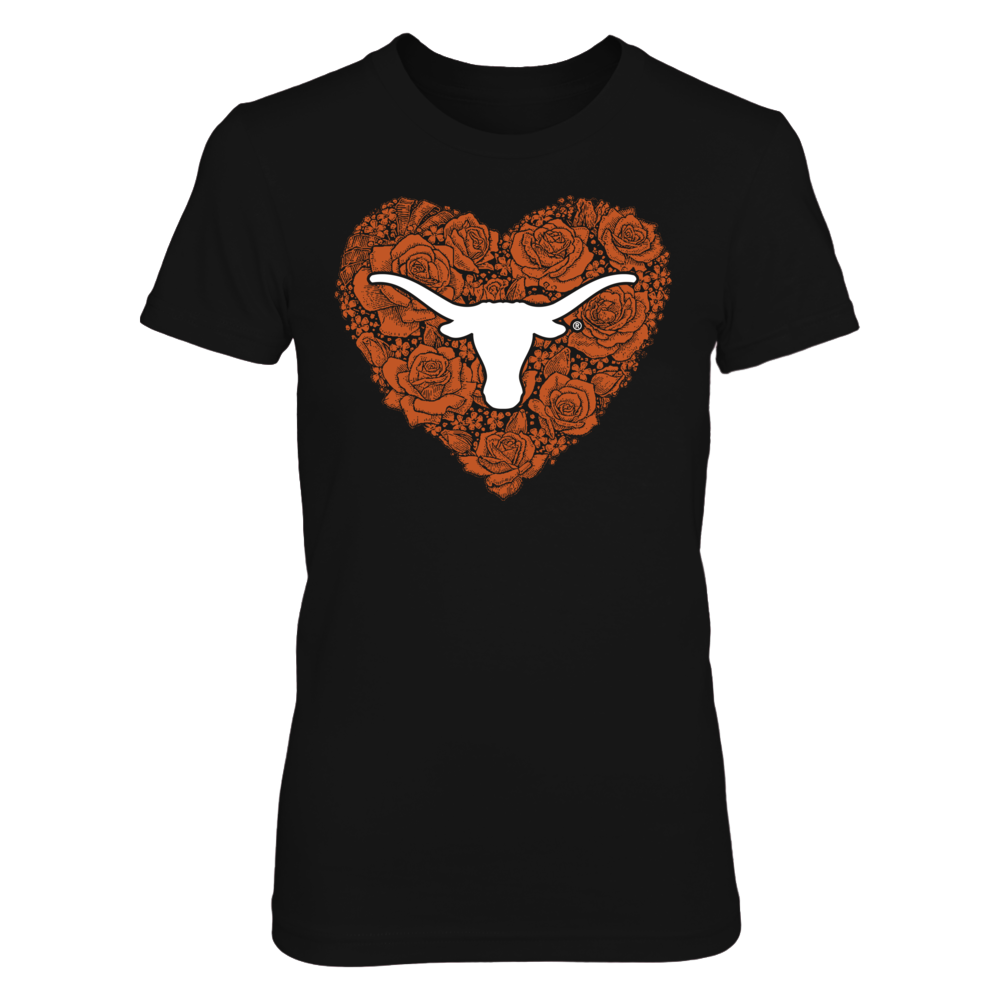 Texas Longhorns - Heart Roses Front picture